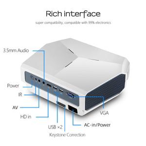 Image 4 - AUN ET10 MINI Projector, 1280x720P HD, Video Beamer. 3800 Lumens Brightness. 3D Cinema. Support 1080P(Optional Android Version)