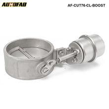 Boost активированный Выпускной вырез/дампа 76 мм закрытый стиль давление: около 1 бар AF-CUT76-CL-BOOST