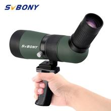 купить SVBONY SV404 16x50 Mini Compact Spotting Scope Fixed-focus 26mm Eyepiece Monocular Long Range Telescope w/Portable Handle F9353A по цене 2428.09 рублей