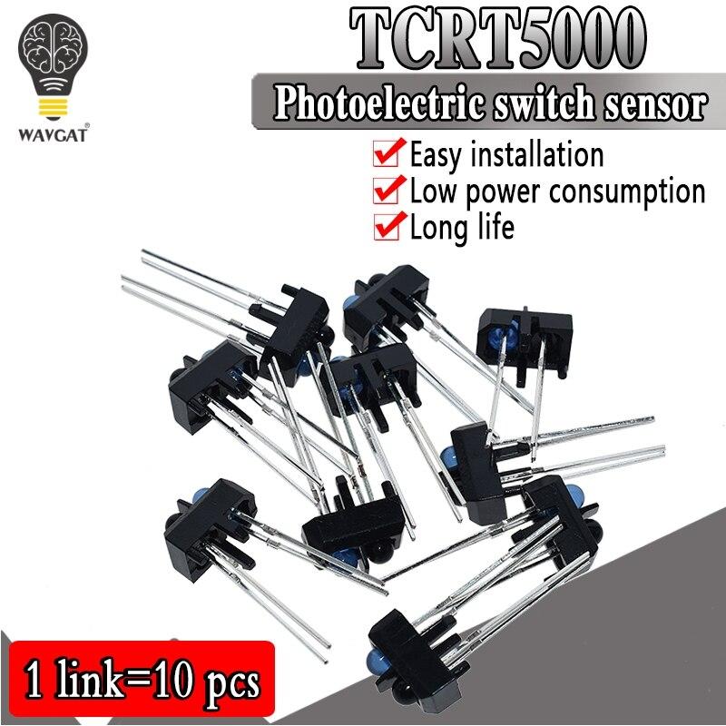 10 шт. TCRT5000L TCRT5000 светоотражающий оптический датчик Инфракрасный Фотоэлектрический переключатель WAVGAT