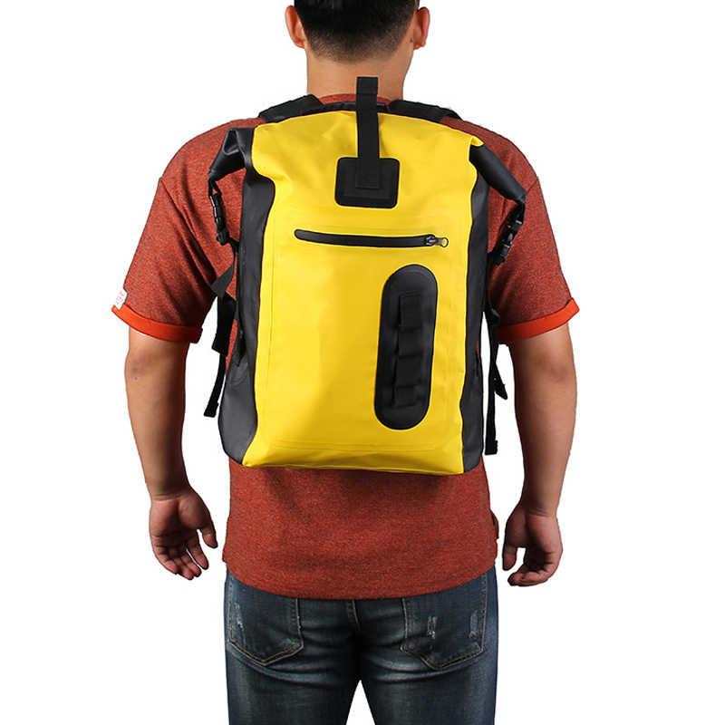 8L 30L Tahan Air Tas Ransel untuk Kayak Arung Jeram Melayang Outdoor Tahan Air Penyimpanan Tote Tas Bolsa De Deporte