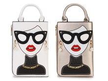 Simple And Cute Earrings Decorated Ladies Crossbody Bag