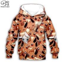 Kids Cloth Pokemon  Pikachu Cartoon 3d hoodies/tshirt/boy sweatshirt Hot Movie pant style-5
