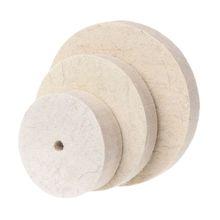 Polishing-Pad Drill Abrasive-Disc Bench-Grinder Grinding-Wheel Rotary-Tool Felt-Wool