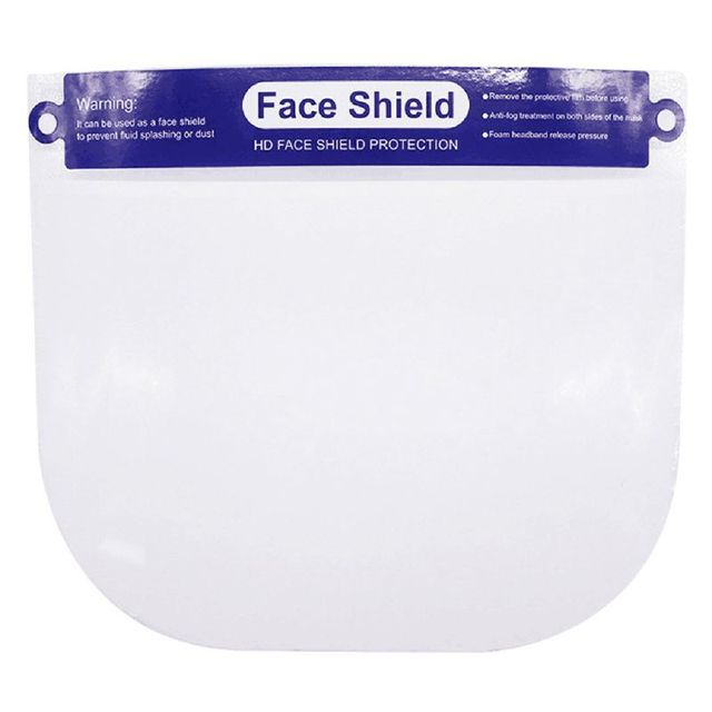 Multipurpose Transparent Protective Adjustable Anti-saliva Dust-proof Full Face Cover Mask Visor Shield for adults for child