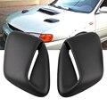 2 шт. аксессуары для автомобиля  автомобильный капот декоративная вентиляционная вытяжка для Subaru 99-01 GC8 GF8 STI WRX 2.5RS автомобильные аксессуары ...