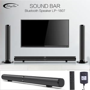 Speakers Hifi Subwoofer-Support Sound-Bar Home Theater Wireless RCA Bluetooth AUX HDMI