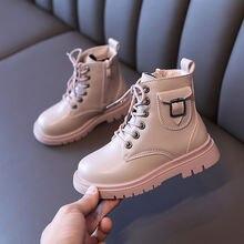 Новинка 2020 детские ботинки повседневная осенне зимняя обувь