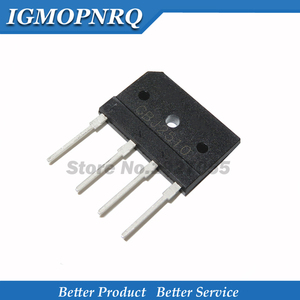5PCS KBJ2510 ZIP KBJ2510 DIP GBJ2510 J2510 2510 25A 1000V Rectifier flat bridge new