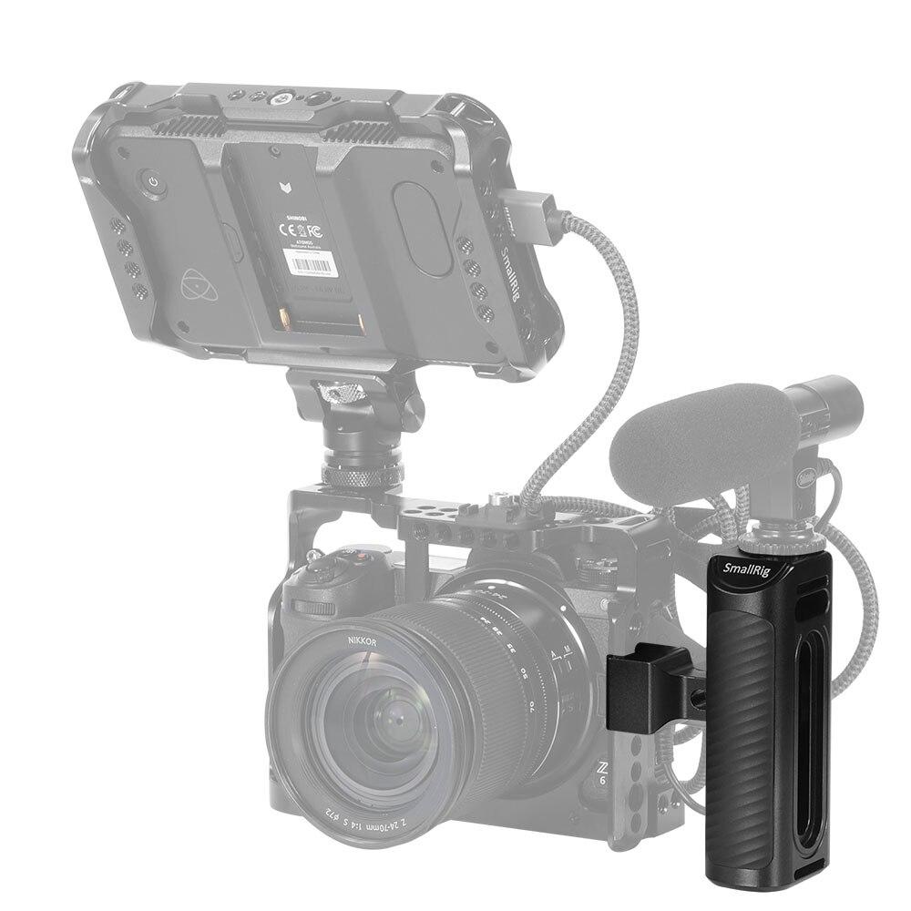 Image 5 - SmallRig アルミ NATO サイドハンドルユニバーサルカメラケージ搭載 Nato レール側一眼レフカメラハンドルハンドグリップ  2427    グループ上の 家電製品 からの 三脚一脚 の中
