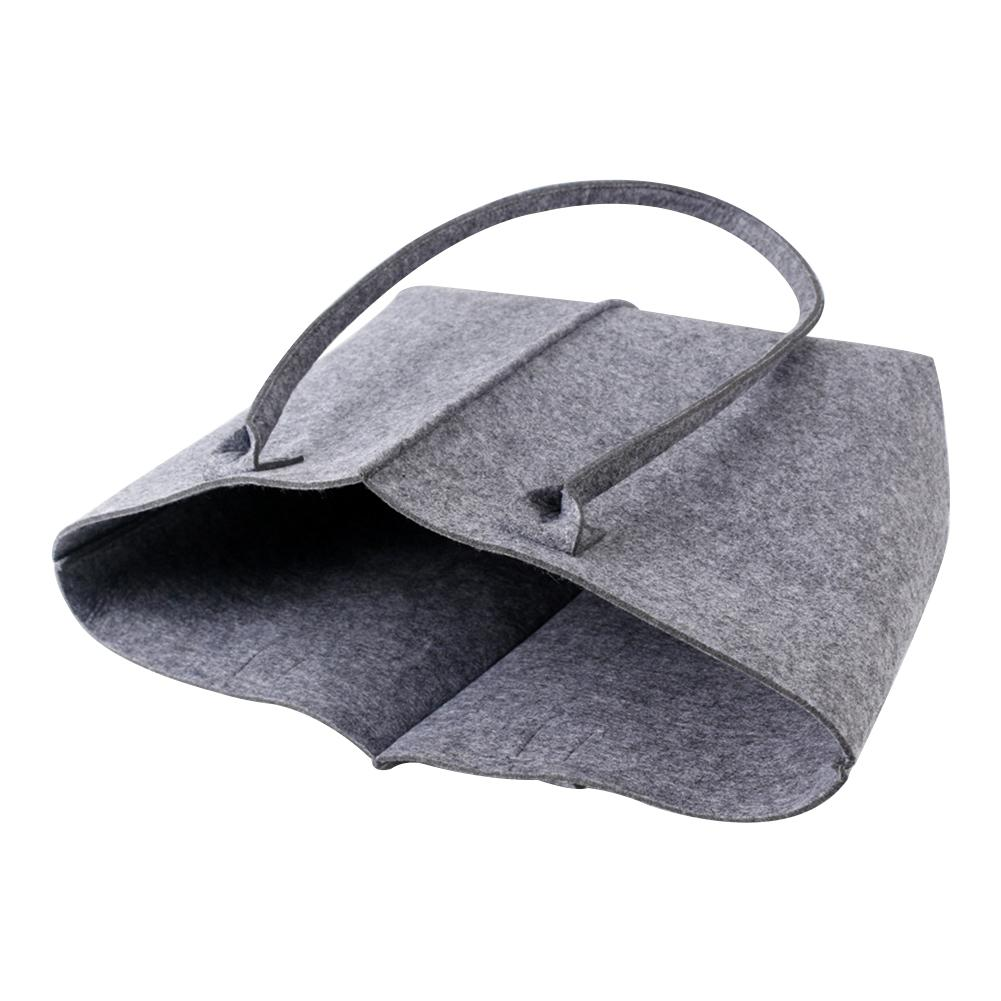 Fashionable File Bag Shopping Felt Paper Protective In Women 39 s Tote Eco friendly Firewood Tools Books Grocery Sundries Storage in Storage Bags from Home amp Garden