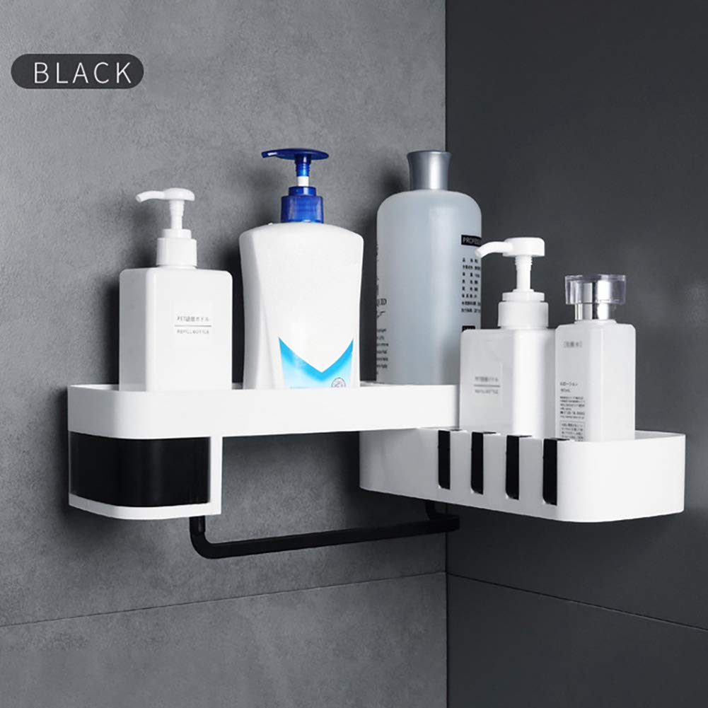 1 Pcs Corner Shower Shelf Bathroom Shampoo Shower Shelf Holder Kitchen Storage Rack Organizer Wall Mounted Type Baño 4полка для