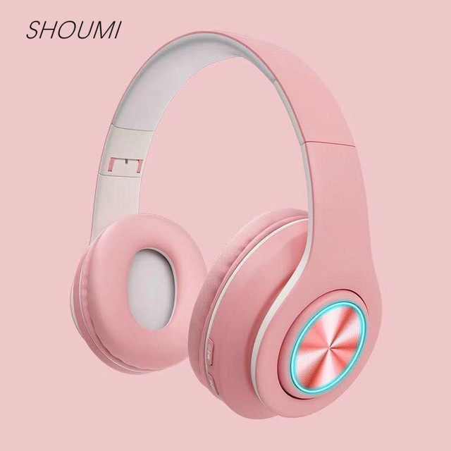 سماعات لاسلكية 9D ايفي ستيريو معكرون سماعة مع Mic TF بطاقة Mp3 لاعب اللاسلكية بلوتوث 5.0 سماعات 039 ل Xiaomi