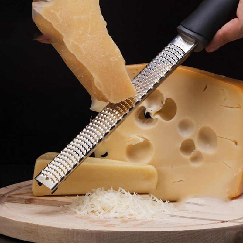 الجبن مبشرة التقطيع شفرة الفولاذ المقاوم للصدأ شفرة حادة اليد مبشرة ل بارميزان صريف الجبن الحمضيات Zester غسالة صحون آمنة