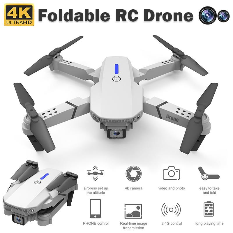 E525 Mini Drone 8-Axis Hold Foldable RC Quadcopter Remote Control Drone With 4K 1080 Single Dual Camera Real-Time Drone