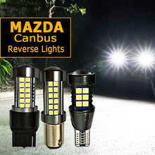 1pcs LED Reverse Light Canbus Lamp For mazda 3 6 gg gh 2 8 5 cx-5 rx8 cx7 323 Axela audi a3 8p a4 b8 b7 P21W BA15S W16W T15 W21W