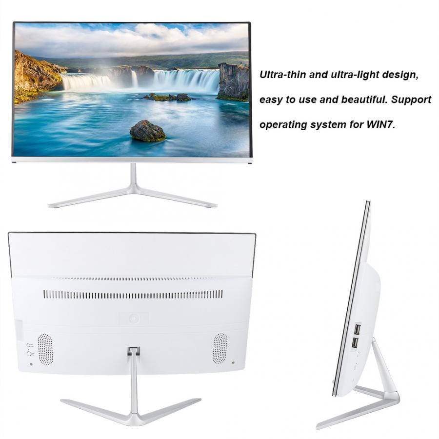 HDMI Display 21.5-inch 4GB Touch IPS 1920*1080 HD PC Monitor Screen Display(AU Plug 100-240V)