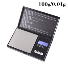 Small Jewelry Scale 0.01G High Precision Scale Jewelry Scale Herbal Gram Scale Gold Jewelry Pocket Scale(China)