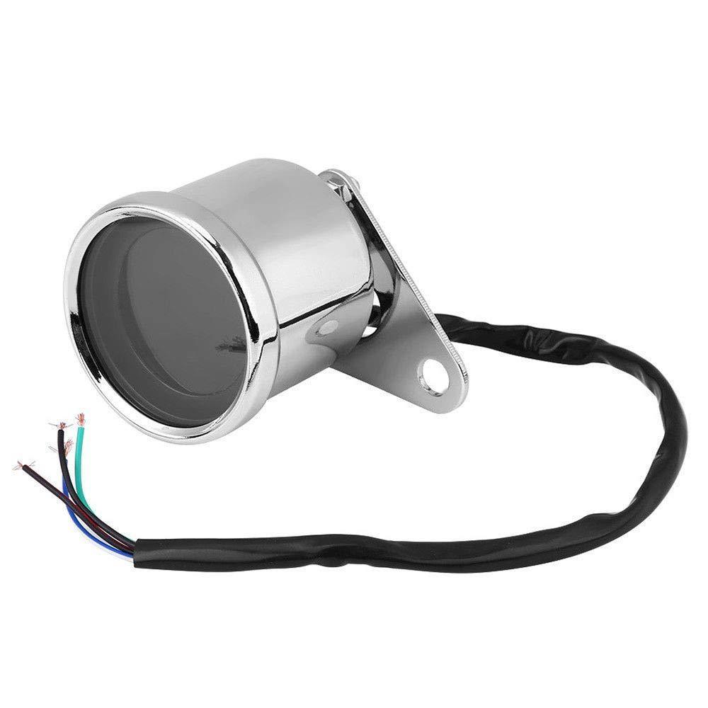Velocímetro da motocicleta retro lcd digital odômetro