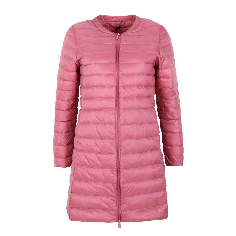 NewBang Brand Down Jacket Female Long Duck Down Jacket Women Lightweight Warm Linner Slim Portable Ladies Coats