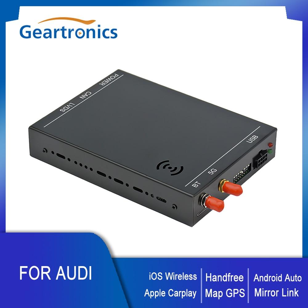 OEM Screen Upgrade Decoder Box MuItimedia Interface Wireless Apple CarPlay for Audi A4/A5/S5/Q5/A1/Q3/A6/Q7 with MMI 3G