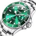 OLEVS herren Uhren Mode-Business Wasserdicht Quarz Armbanduhr Männer Top Marke Luxus Edelstahl Strap Sport Uhr Männlich