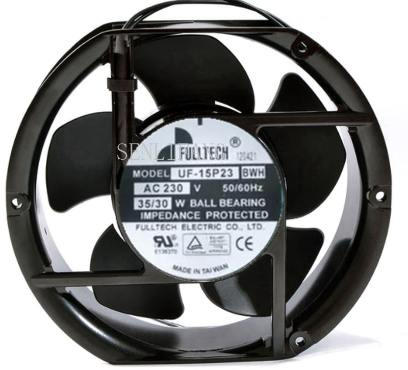 For FULLTECH UF-15P23 BWH DC 220V 35/30W 172x150x50mm 2-wire Cooler Cooler Fan One Year Warranty