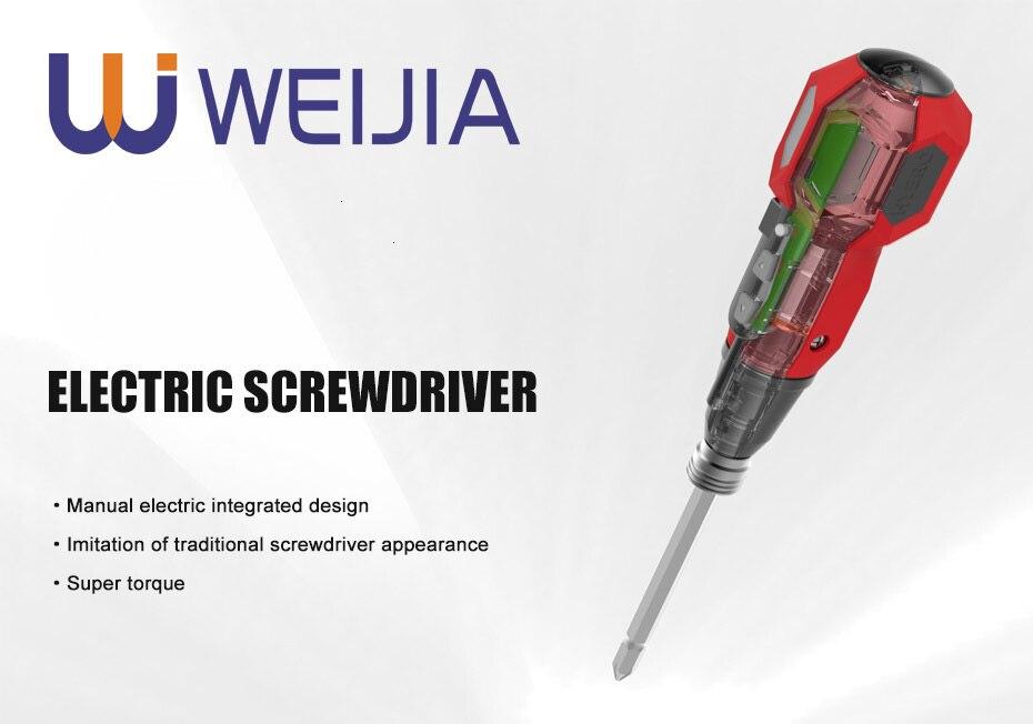 Big Torque Mini Electric Screwdriver Home DIY Power Tools