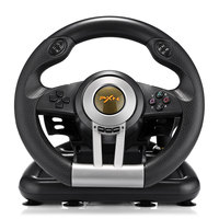 PXN V3II Racing Game Steering Wheel USB Vibration Dual Motor Foldable Pedal Game Controller for PC PS3 PS4 Xbox One PXN V3II