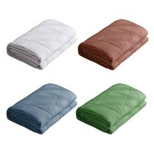 Weighted Blanket 100% Cotton Soft and Comfortable Gravity for Autism Anxiety Over-stress Population