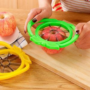 Apple Cutter Slicer For Kitchen Gadgets Stainless Steel Cored Fruit Slicer Kitchen Accessories Apple Easy Cut Slicer TXTB1 New