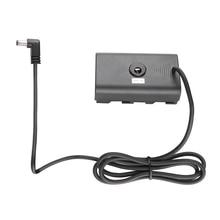 FOTGA NP F Dummy סוללה DC מצמד עם כוח כבל עבור Sony NP F550/F570/F750/F770 NP F960 NP F970