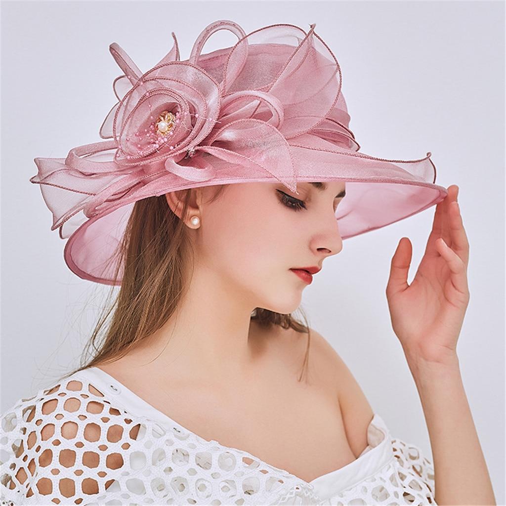 Pink Brides Hats