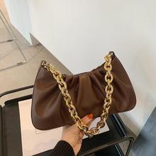 Handbags New Desginer Chains Bag-Totes Vintage Woman Fashion Female Solid PU Causal