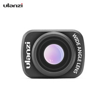 Ulanzi OP 5 0.65X geniş açı Lens manyetik geniş açı kamera Lens DJI OSMO cep Gimbal kamera aksesuarları