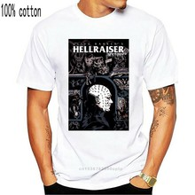 Nuovo HELLRAISER PINHEAD Horror Thriller Movie Mens nero T-shirt taglia S-3XL