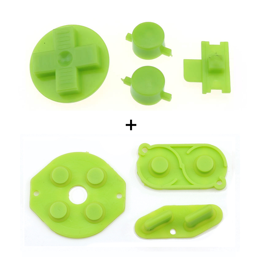 YuXi Rubber Conductive Button A B D pad Silicone Start Select Keypad & DIY Buttons Set For Gameboy Classic GB Repair parts
