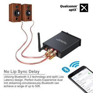 Image 4 - Neoteck Bluetooth 4.2 Stereo Audio Amplifier Certified AptX Low Latency Bluetooth Amplifier Hi Fi Class D Integrated Amp 50W+50W