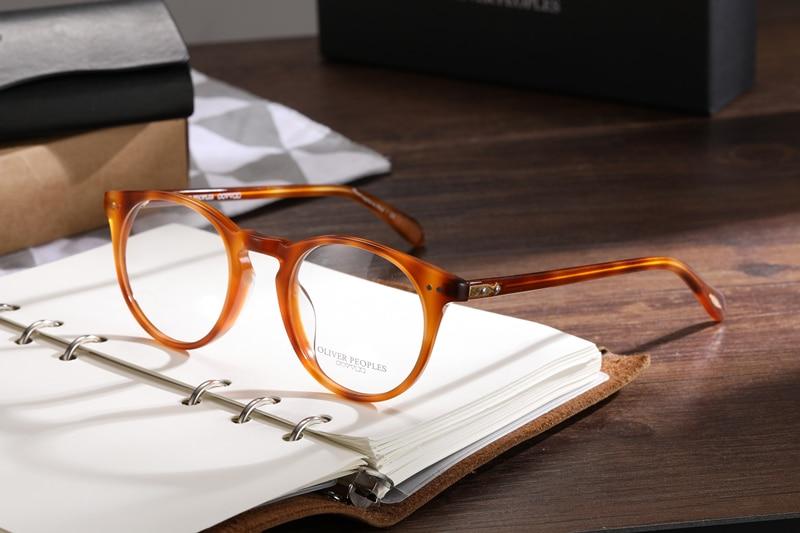 Vintage Round Eyeglasses Frame Women OV5256 Sir O'malley Prescription Glasses Men Optical Eye Glasses Frame Myopia Reading