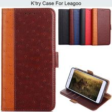Ostrich Skin Pu Leather Phone Case For Leagoo S8 pro Kiicaa Power M9 T5 Z5 Z7(China)
