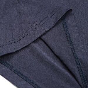 Image 5 - 4pcs/set Male Panties Cotton Boxers Underwear Mens Boxer Waist Sexy Comfortable Boxer Breathable Solid Color