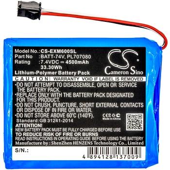 Cameron Sino BATT-74V PL707080 Battery for Extech MS6000 Ms6060 Ms6100 Ms6200 MS6000 Oscilloscopes 4500mAh
