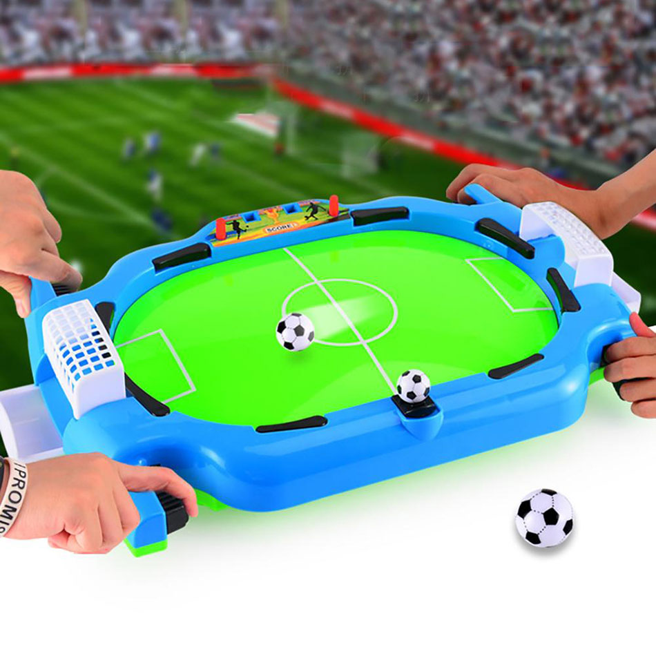 Mini Tabletop Soccer Machine Board Interactive Game Football Sport 2player Match Party Game Educational Toys For Children Adult