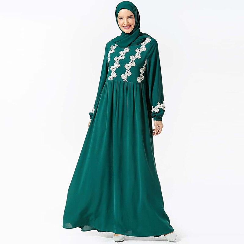 Kaftan Abaya Dubai Hijab Muslim Dress Turkish Islamic Clothing Abayas For Women Dresses Caftan Robe Baju Muslim Wanita Kleding