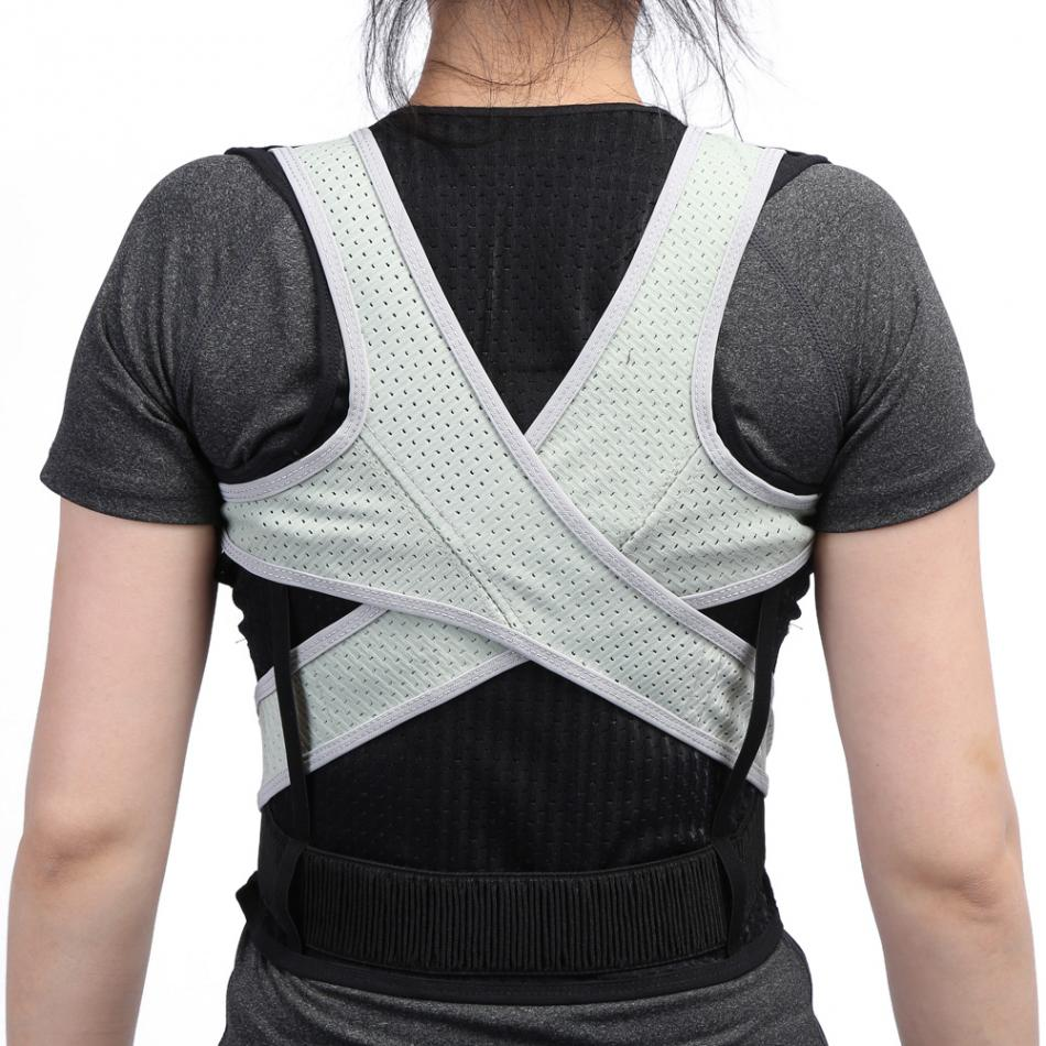 Adult Back Corset Orthopedic Back Posture Corrector Vest Spine Support Belt Lumbar Back Posture Correction Bandage For Men Women