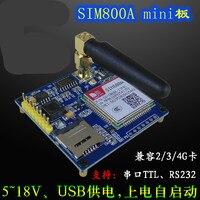 SIM800A Development Board GSM/GPRS Module Replace SIM900A Program Source Code