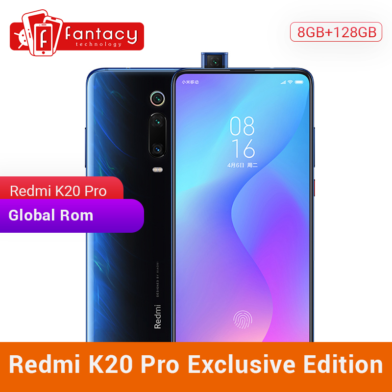 Privilege Edition Xiaomi Redmi K20 Pro 8GB 128GB Snapdragon 855 Plus Mobile Phone 6.39''AMOLED Screen 4000mAh 48MP Triple Camera