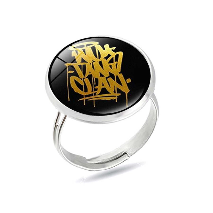 2020 Mới Ngô Đường Gia Tộc Nhẫn New York Hip-Hop Ban Nhạc Rap Nhẫn Người Hâm Mộ Nhạc Trang Sức Quà Tặng Nam Quà Tặng Cao Cấp anillos