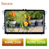 Seicane 2din 9 Android 8.1 For VW/Volkswagen/Golf/Tiguan/Passat/b6 b5 RAM 2GB ROM 32GB Car Head Unit Stereo player Radio GPS