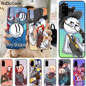 The Henry Stickmin Collection Phone Case For Samsung S5 6 7 8 9 10 S8 S9 S10 Plus S10E Lite S10-5G S20 UITRA Plus image